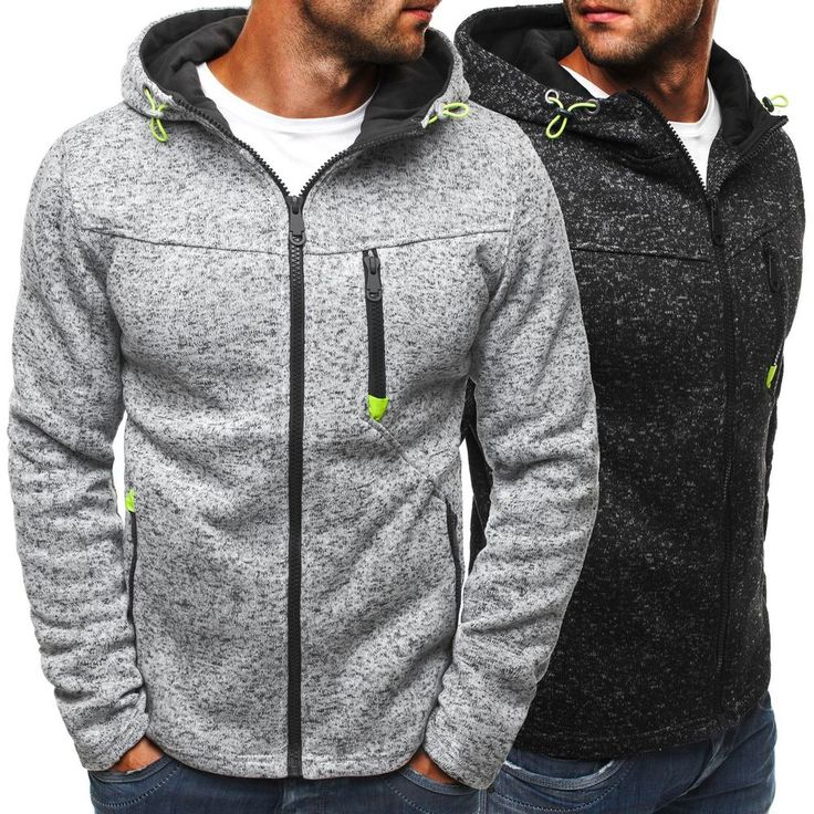 OZONEE J.STYLE 2142 Herren Kapuzenpullover Sweatshirt Pullover Hoodie Sweatjacke