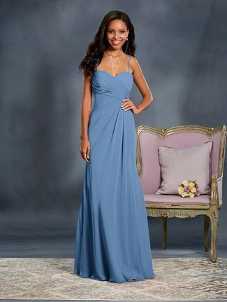 Alfred Angelo In Wedgwood Blue Or Once Upon A Time Dusty