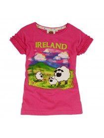 Pink Ireland Sheep T-shirt