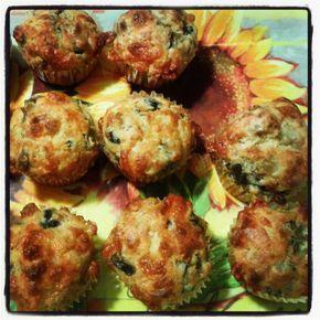 muffin salati melanzane e scamorza affumicata