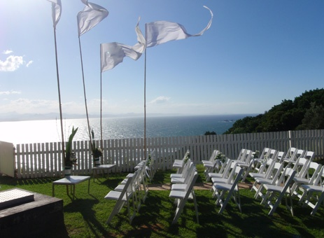 ceremony at the lighthouse, Byron Bay <3