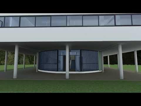 Real-time Walkthrough -Villa Savoye- le corbusier