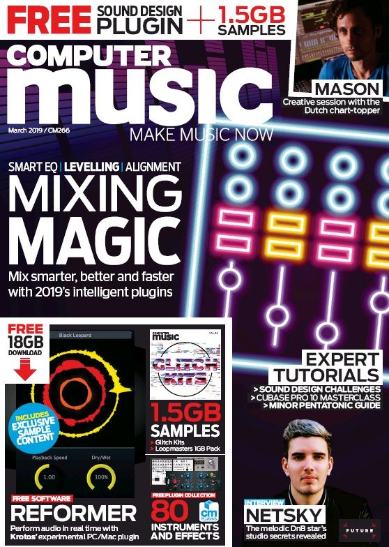 Computer Music – January 2019 available online at South Ayrshire