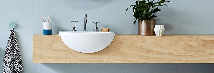 Image result for semi recessed sink