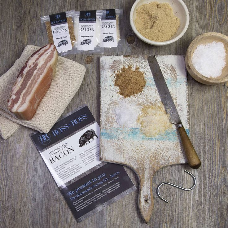 Bacon Homemade Curing Kit
