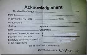 Acknowledgment Of Payment Receipt,official receipt template