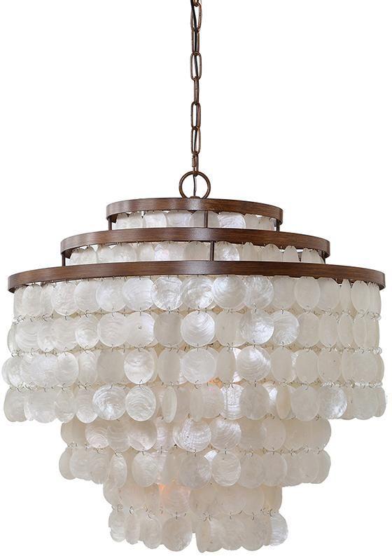 capiz shell lamp shade diy chandelier ebay entryway