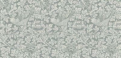 Victorian Wallpaper | Bird & Anemone Wallpaper | Bradbury & Bradbury