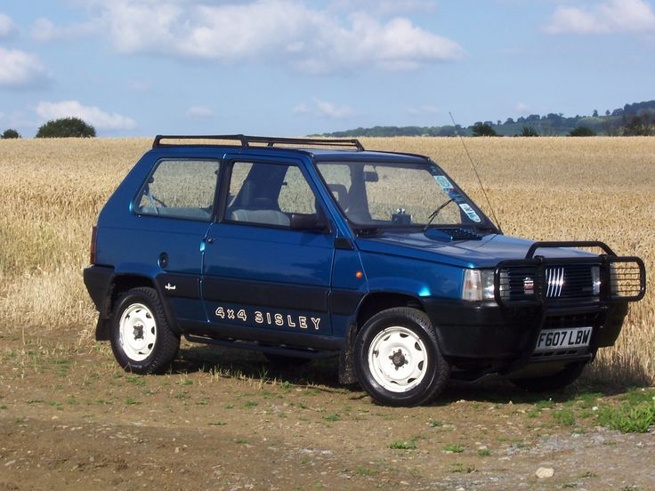 17 best images about fiat panda on pinterest 4x4 off for Panda 4x4 sisley off road