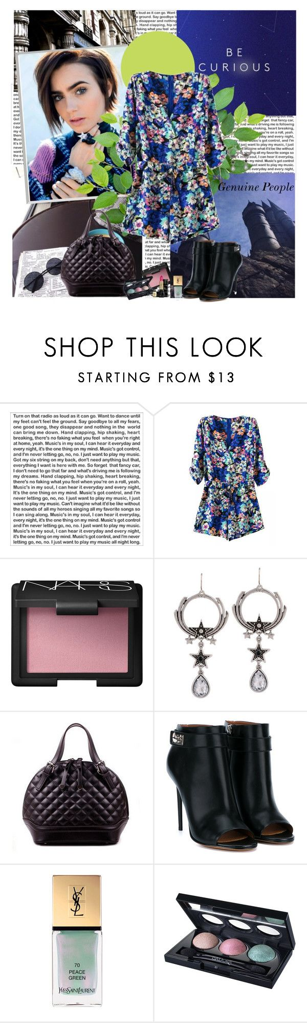 """Spring is almost here"" by polybaby ❤ liked on Polyvore featuring PBteen, NARS Cosmetics, Givenchy, Yves Saint Laurent, Isadora and Guerlain"