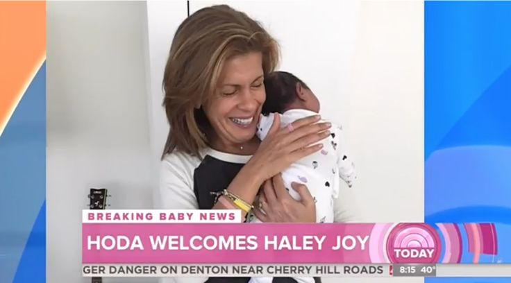 Hoda Kotb Adopts Baby Girl (VIDEO) #Entertainment #News