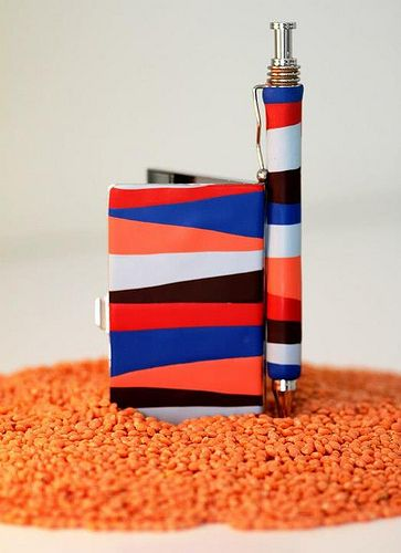 card case and pen