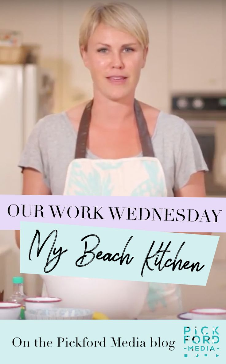 Last year we were lucky enough to work with the gorgeous, hilarious and insanely sweet Kelly Lowdon of My Beach Kitchen. A total natural, this was her first time on camera – a bit of a dream becoming a reality after spending her childhood making mud pies and pretending she had her own cooking show!
