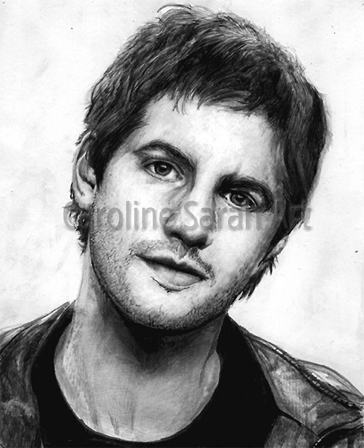 Drawing of actor Jim Sturgess