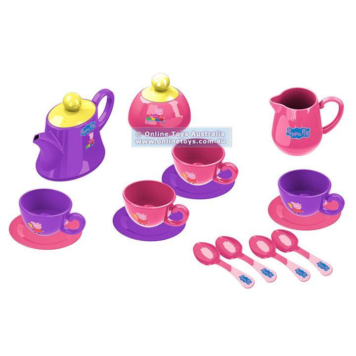 pepa pig toys | Peppa Pig - Peppa Pig's Tea Set