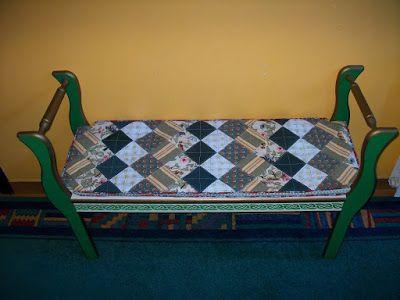 Almofada para banqueta ~ AURORA arts & crafts