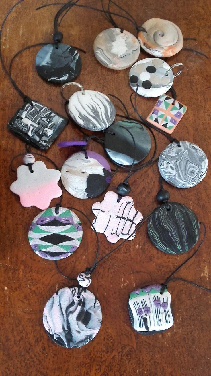 Polymer clay Key chains