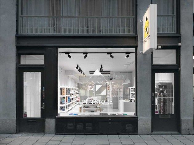 Form Us With Love have designed the Pen Store, a new retail space in Stockholm, Sweden.