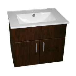 La Paz 620 Wall Hung Unit Espresso   TR4530 La Paz Vanity Basin Colour: Espresso | Includes: La Paz Vanity Basin