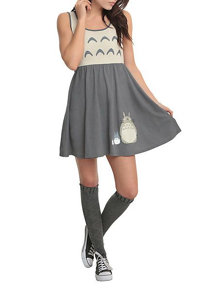 Studio Ghibli Her Universe My Neighbor Totoro Friends Costume Dress | Hot Topic - I know what I'm getting with my Hot Cash in January! :D