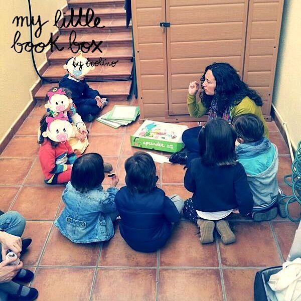 Taller presentación de las cajas de @mylittlebookbox por @La Gallina Pintadita Carmen