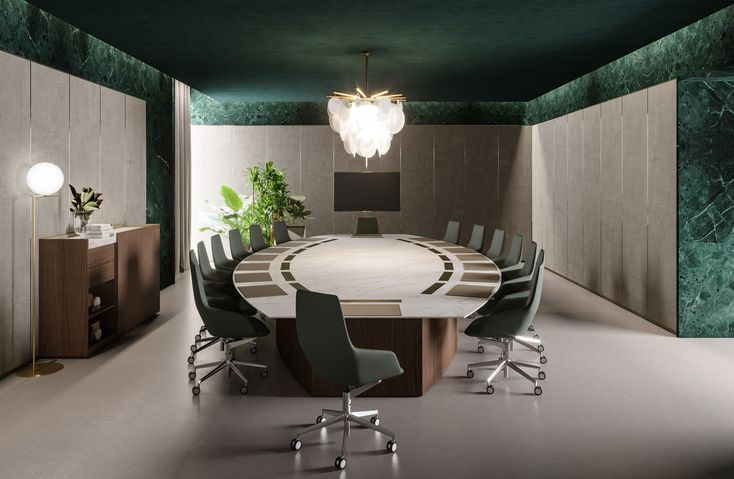 Bespoke conference table by Prof Office | AD RMDESIGNSTUDIO