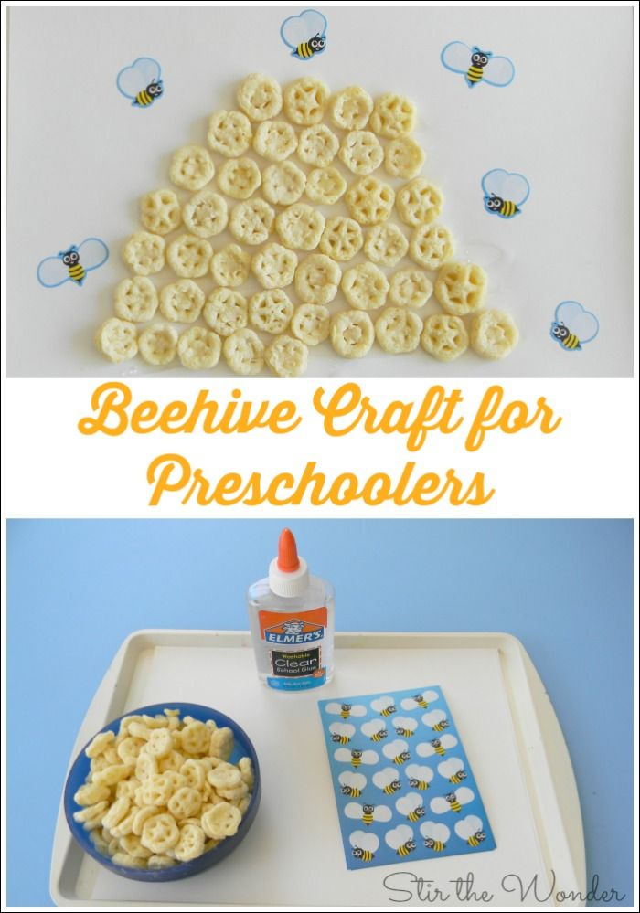 In honor of Springtime, kids will love making this Beehive Craft!