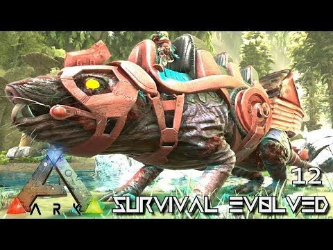 awesome ARK: ABERRATION - NEW ZOMBIE ROLL RAT !!! E12