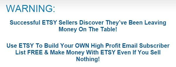 Your Etsy List Builder By Stuart Turnbull – Best Seller Successful ETSY to Build Your Own High Profit Email Subscriber List FREE and Make Money With ETSY Even If You Sell Nothing...  Check Detail : http://www.releasedl.com/your-etsy-list-builder-by-stuart-turnbull/