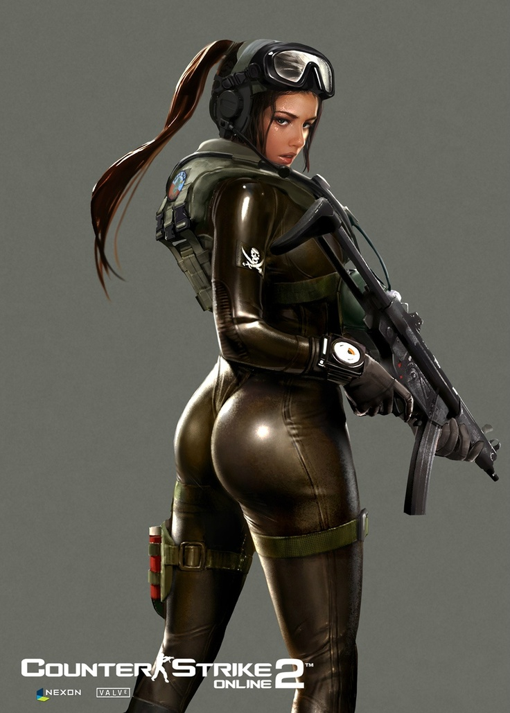 Counter strike lara croft porn