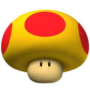 in mario kart wii, yeah somebody with this thing Crushed me