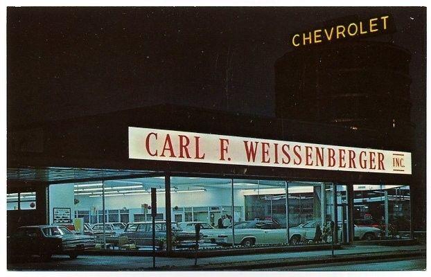 Carl F Weissenberger Inc Chevrolet Dealership Toledo Ohio Chevrolet Dealership Chevrolet Dealership