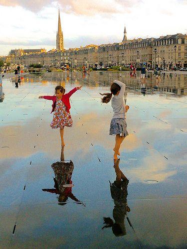 Espejo de agua, Burdeos. Uno de los lugares más hermosos y más fotografiados de la ciudad