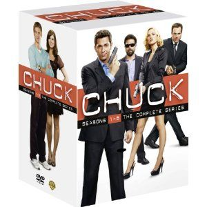 DVD boxset- Chuck: Complete Seasons 1-5
