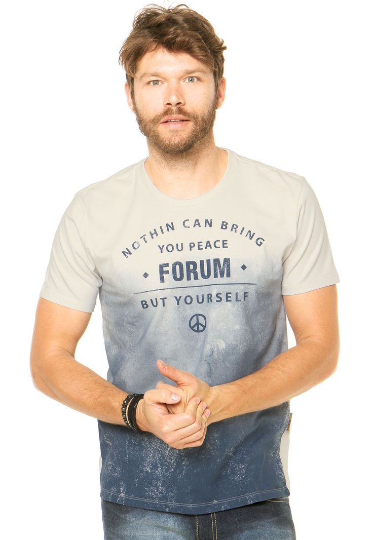 Camiseta Forum Degradê Multicolorida - Marca Forum