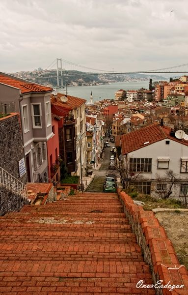 """Kuzguncuk - Bosphorus - Istanbul.  """"The arts colony of Kuzguncuk was once a melting pot of cultures and boasts a mosque and a synagogue, plus Greek Orthodox and Armenian churches, along with a crop of cute cafes."""""""