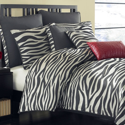 Zebra Bedding Collection