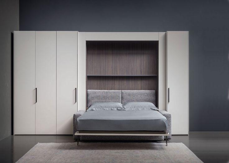 Piazzaduomo bed, Giulio Manzoni, Flou, 2017