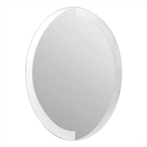 Espejo ovalado 60 x 45 cm.