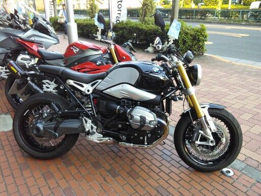 BMW R Nine T, seen for the first time since Tokyo Motercycle Show