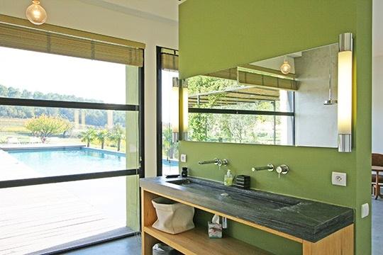 #home #homedecor #decoration #green #pastel #bathroom