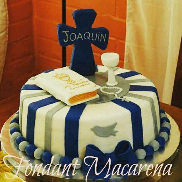 Torta bautizo...