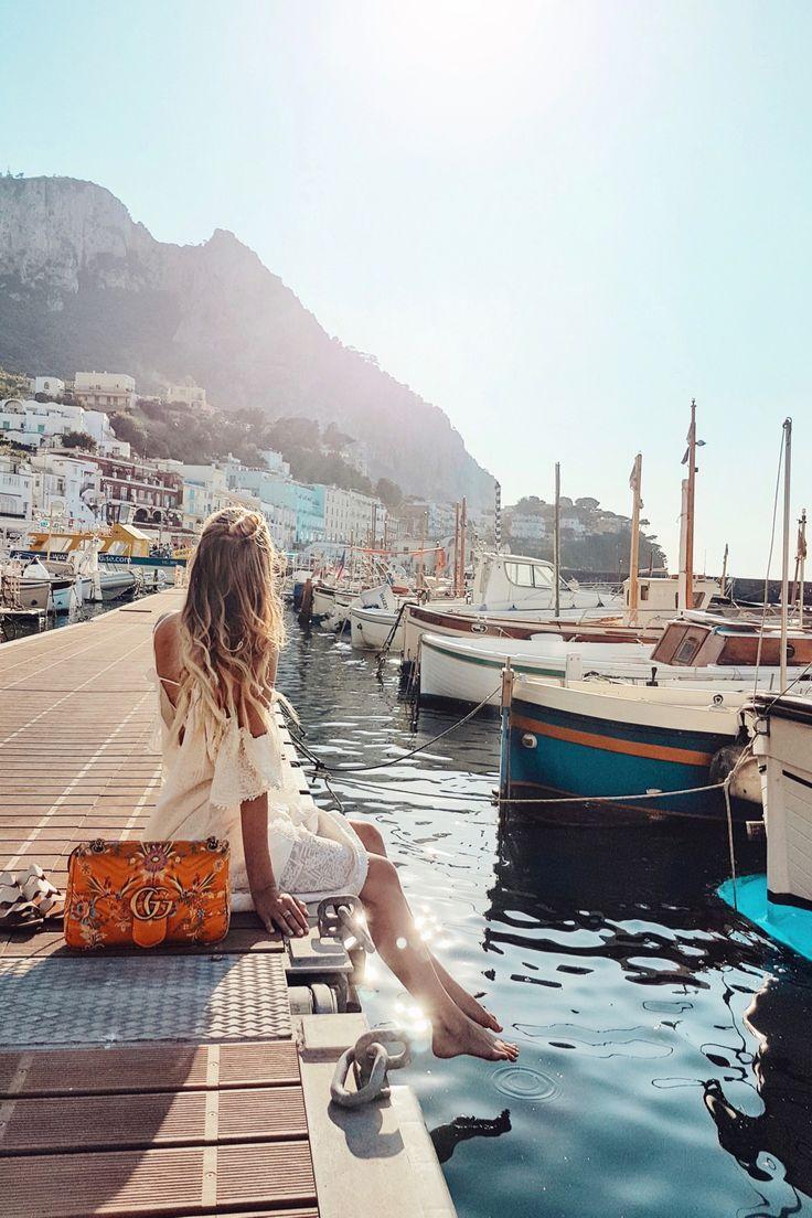 At the pier, Marina Grande   Capri, Italy: www.ohh…