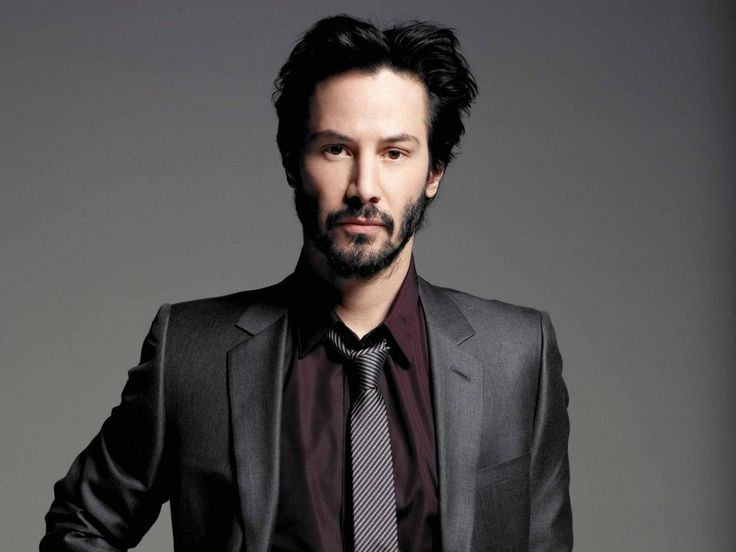 Keanu Reeves. I've had a crush on Keanu Reeves since I was 11.  Can you blame me.♡