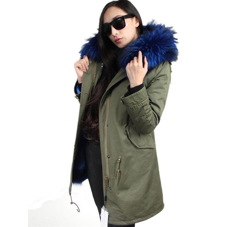 Oversized Coats Large Fur Collar Winter Jacket Women Hooded Cotton Wadded Coat Women Military Jackets Long Coat Parkas C2749