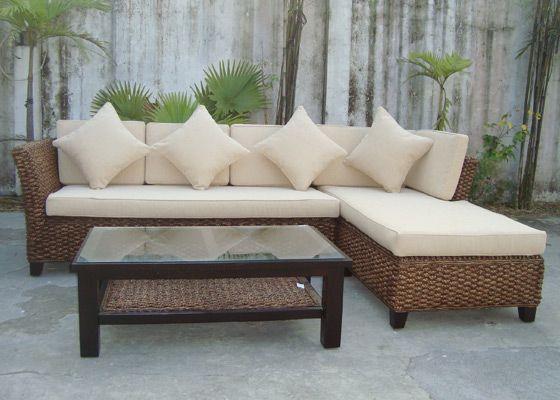 Rattan Sofa for living room