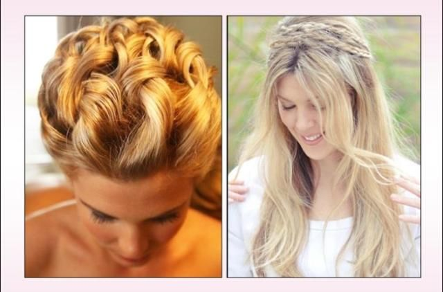 Finding the perfect Hairstyles to rock on prom night? #PromHairstyle whether you want to wear your hair down, up or even half-up there are countless different styles! #RendezvousHair2