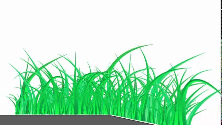 Green grass - Adobe Illustrator tutorial. How to draw nice vector grass ...