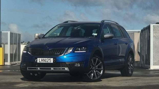 Skoda Octavia Scout Crosses The Line Between Station Wagon And Suv