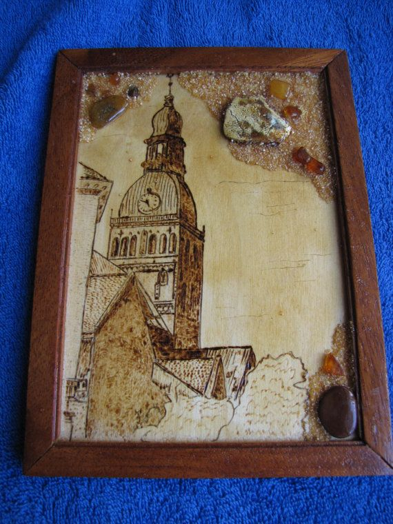 Vintage art picture framed handmade home decor by ambergems93